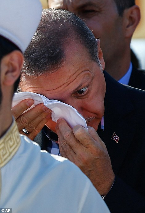 Erdogan promised to cleanse the country of the 'virus' of Fethullah Gulen backers