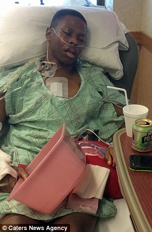 Andrew Jones, 26, began feeling breathless and coughing up blood and was horrified to be diagnosed with heart failure due to a hereditary condition