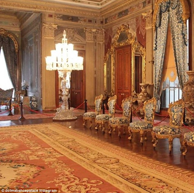 While the population have got used to Erdogan's extravagance with his palace, the source of his wealth and how he has amassed £139million remains a mystery