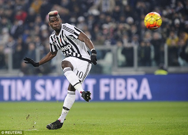 Pogba scored 10 goals and provided 12 assists as Juventus romped to league and cup glory last season
