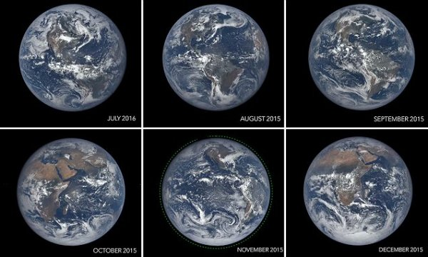 Stunning video reveals 365 days of pictures from Nasa's ...