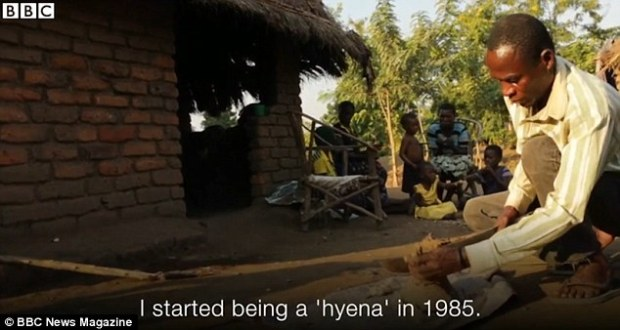 Aniva claims to have had sex with over 100 girls and women since he started working as a 'hyena' in 1985