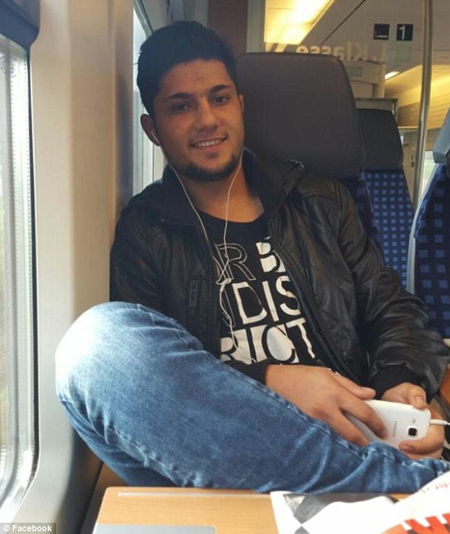 Riaz Khan Ahmadzai, who attacked people on a train in Germany earlier this week
