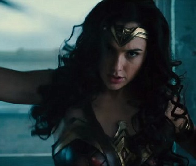 New Look Gal Gadot Stars In An Explosive New Wonder Woman Trailer That Debuted At