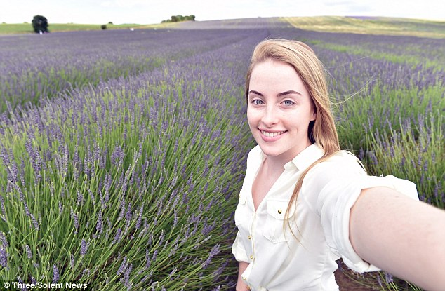The Norfolk lavender fields (pictured) don't look too dissimilar to the highly-desirable Provence Vineyards of France