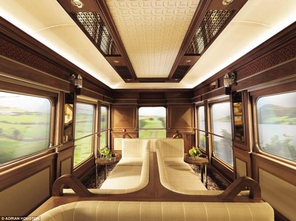 Grand Hibernian train allows Irish tourists to travel the ...