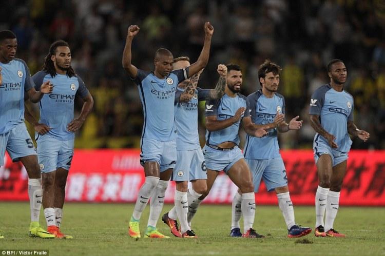 Borussia Dortmund 1-1 Manchester City (5-6 pens): Angus ...