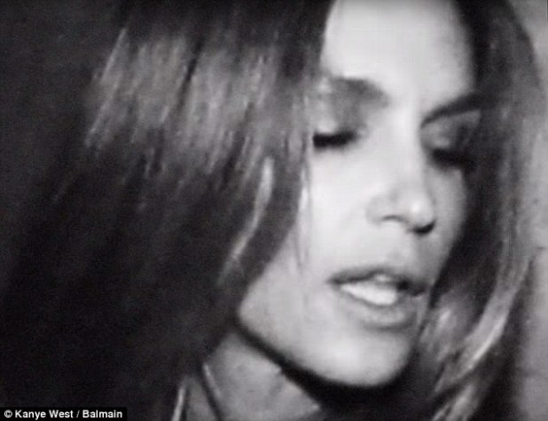 Serious superstar power: Cindy Crawford has a blink-and-you'll-miss-it cameo
