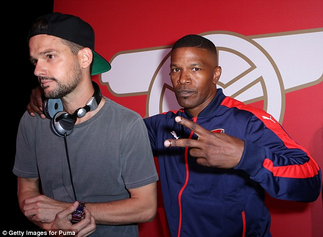 Image result for jamie foxx arsenal