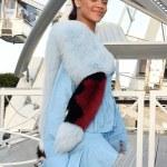 Rihanna's Flirty Style In Paris