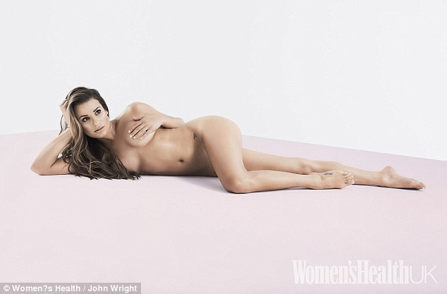 lea michele woman's health