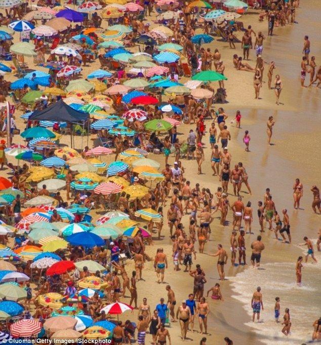Ipanema Beach, where you can frolic in the waves, go surfing, take long walks or simply sit back and engage in the discreet art of people-watching
