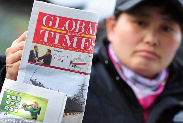 A scathing editorial appeared in The Global Times last week slamming Australia