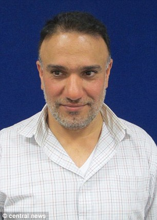 Both Al Shayeb (pictured) and Hashem were granted asylum in the UK