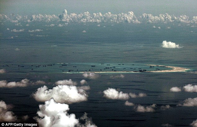 A state-run Chinese newspaper has demanded 'revenge' against Australia after it backed an international tribunal's decision to reject its claims over the South China Sea (pictured)