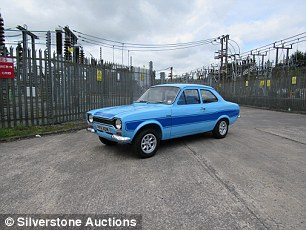 The Silverstone Classic sale had a plethora of fast Fords but this one 1974 Mk1 Escort RS2000 stood out to us. Predicted to sell for £28,000 to £32,000, it went for £36,563