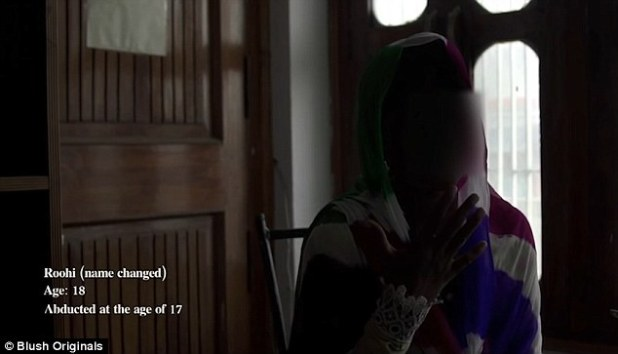 Roohi narrated how she was tortured and raped while she was kidnapped and sold to a brothel