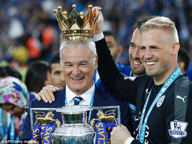 The popular Italian helped mastermind Leicester's Premier League triumph last term