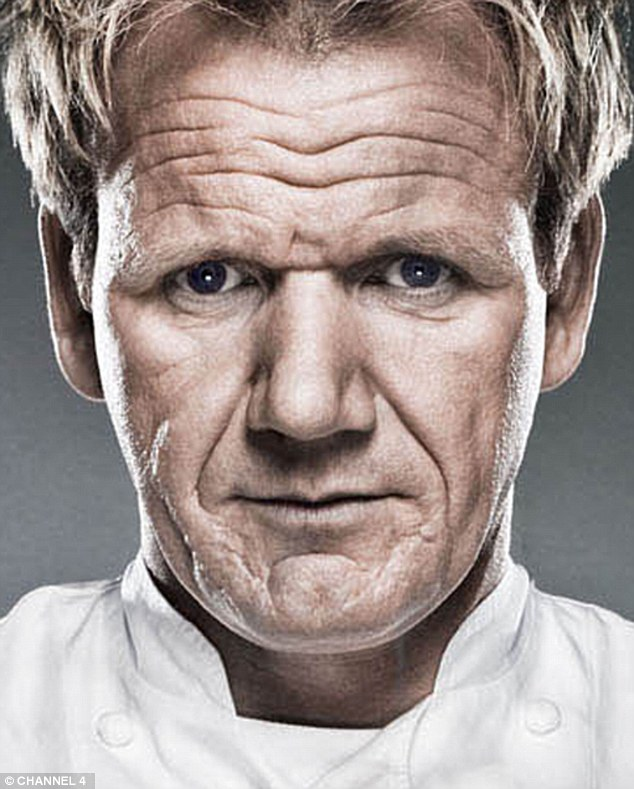Gordon Ramsay Sports A Full Face Of Make Up For Las Vegas