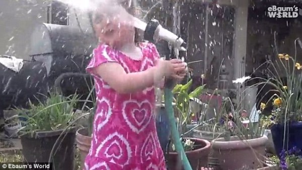 'I should stop you!' Giggling grandma captures the ...