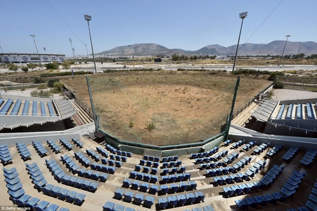 In Athens, this stadium was the site for the Olympic softball in 2004, but has since been abandoned