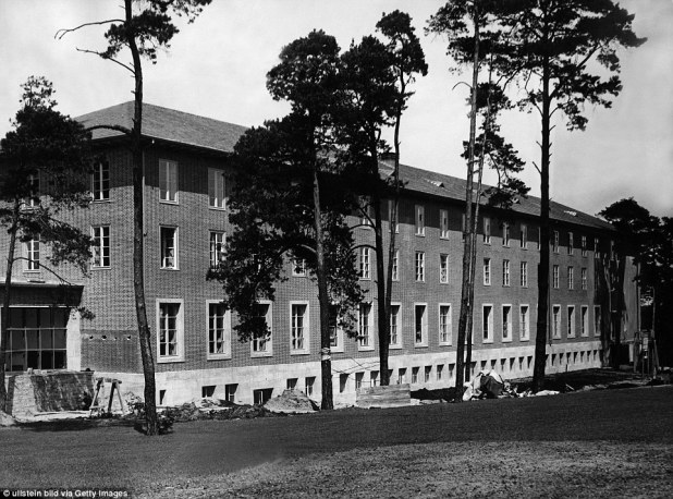 In 1936, the Olympic Village was constructed specifically for the Games and this building was used to house female athletes