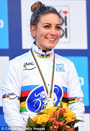 Fans have pointed out that French cyclist Pauline Ferrand-Prevot, left, bears an uncannt resemblance to the Duchess of Cambridge