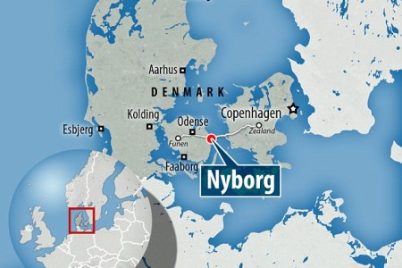 esbjerg location on the denmark map » Full HD MAPS Locations ...