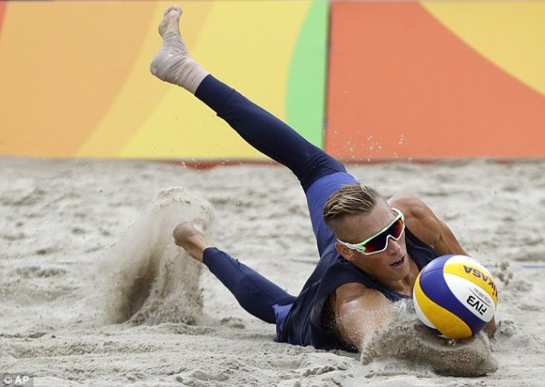 Team USA's beach volleyball pair first to be eliminated at ...