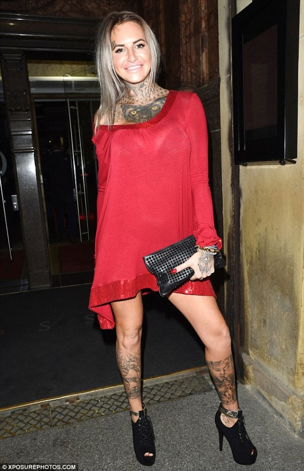 Jemma Lucy and sibling Lulu sport matching dresses as they ...