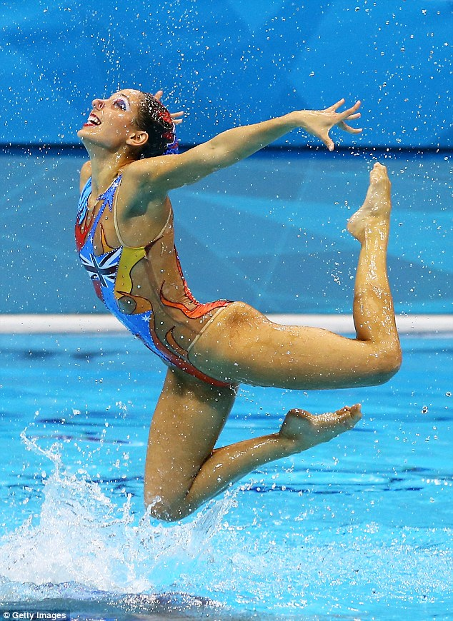 How The Synchronised Swimmers Will Keep Their Make Up
