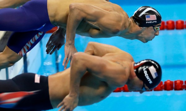 Phelps and Lochte duke it out at Olympics for the last ...