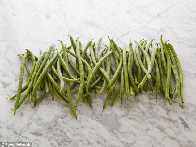 Incredibly, it takes 60 raw green beans before you munch through 100 calories