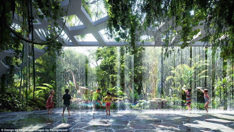 Image result for dubai rainforest hotel