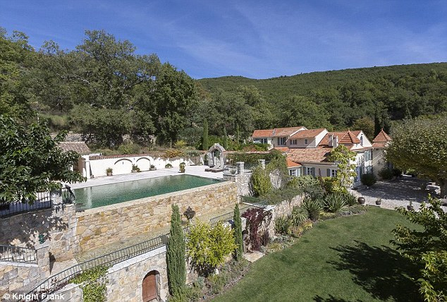 Domaine Saint-Vincent was bought for £1.5m in 2003 and underwent a £5m renovation