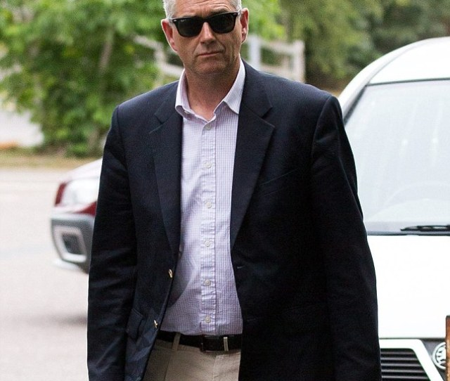 Jonathan Thomson Glover Arrives At Taunton Magistrates Court Taunton Somerset In July Last