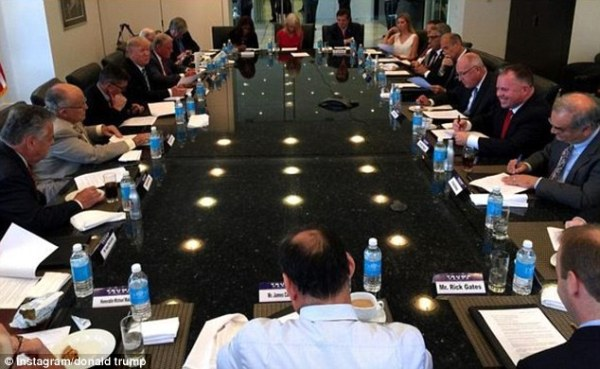 Ivanka sits in on Donald Trump's national security meeting ...