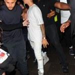 Rihanna & Justin Bieber Hit The Club In London