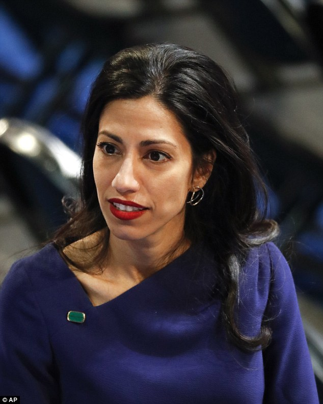 Abedin has never spoken directly about the articles posted in her mother's magazine, while she served as assistant editor