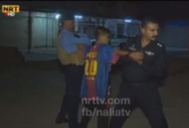 Mohammed, who was wearing a Barcelona football shirt with FIFA World Player of the Year Lionel Messi on the back over the top of the suicide vest, is expected to spend months or possibly years in custody