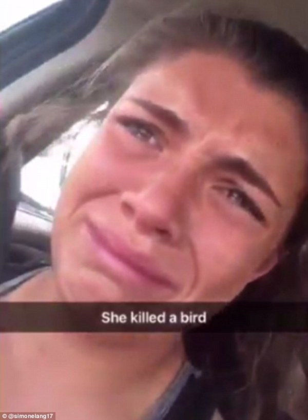 Snapchat story sees a teen sobbing in her car after ...
