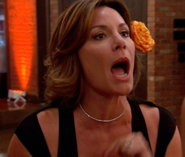 Shooting The Messenger Luann De Lesseps Confronted Bethenny Frankel For Exposing Her Fiances Cheating On