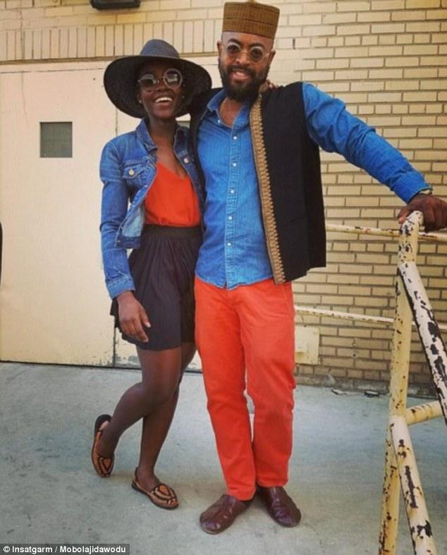 New love? Lupita Nyong'o, 33, has been dating GQ Style's Fashion Editor Mobolaji Dawodu for six months, according to Us Weekly