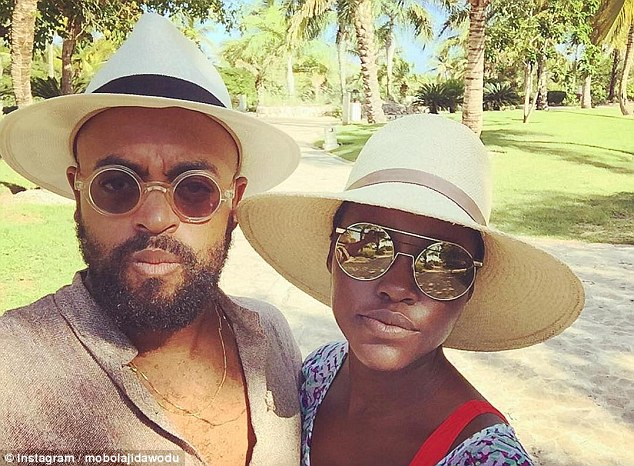 Jetsetters: The award-winning actress and the fashion writer appear to have enjoyed a holiday together