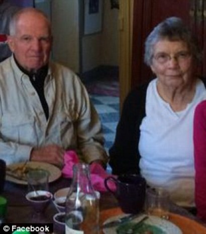 Hopeful: Sneddon's parents Roy (left) and Kathleen (right) never gave up hope that their son was alive, and continue to campaign for his release