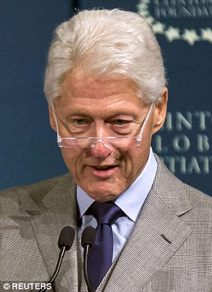 Disclosure: Bill Clinton said in 2014 that his wife's injury 'required six months of very serious work to get over'