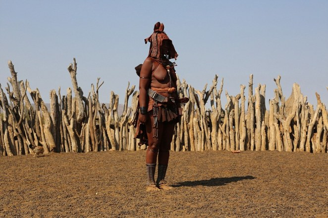 It is estimated that the Himba tribe has a population of around 50,000, mostly living in northern Namibia and across the Kunene River in neighbouring Angola.