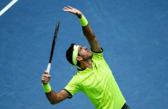 Image result for Del Potro Lowest-ranked US Open Quarter-finalist in 25 Years