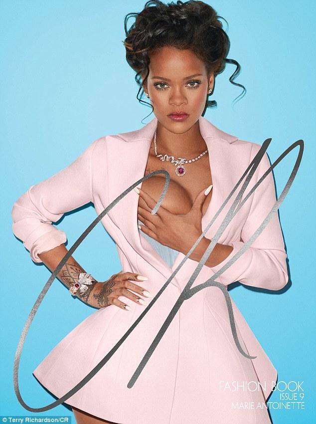 Rihanna (CR Fashion Book - Terry Richardson)