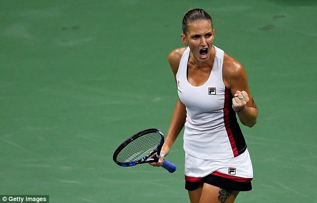 Karolina Pliskova managed to defeat the favourite on Thursday night in the US Open